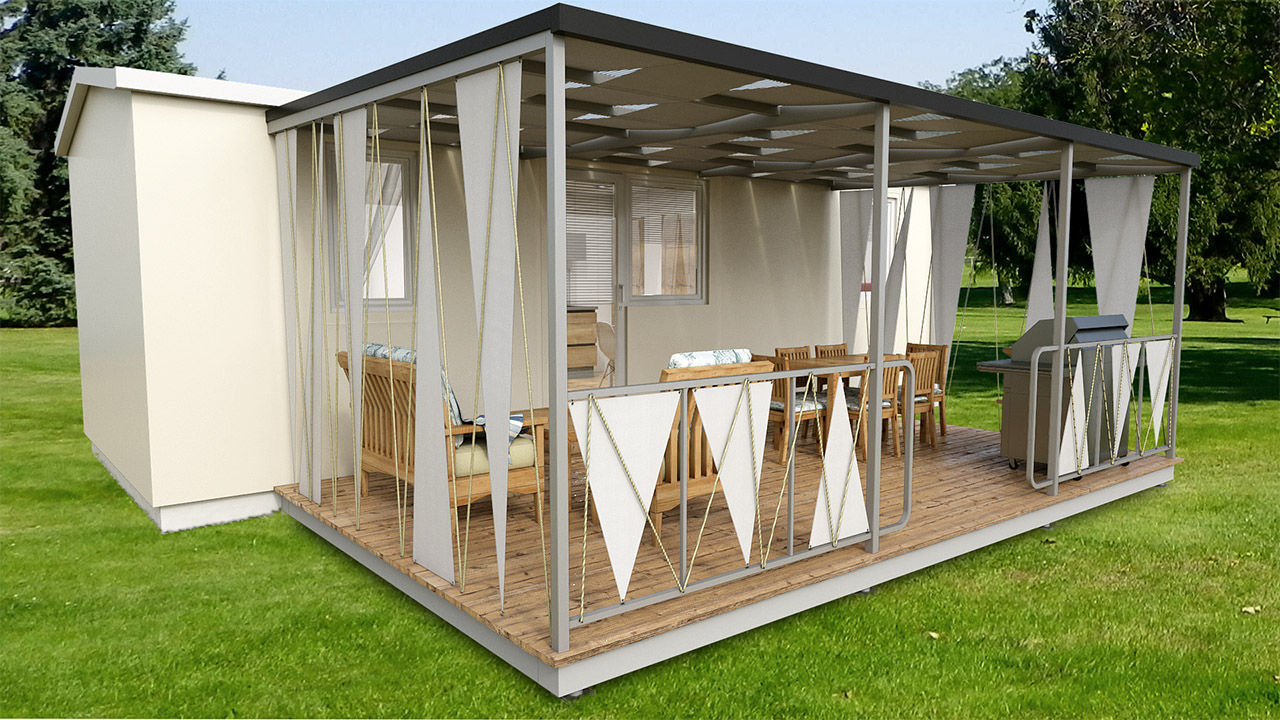 Mobilna kuća Klasic 2 Ms mobile HOME 2
